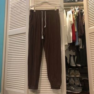 Brown Urban Outfitters Sweatpants